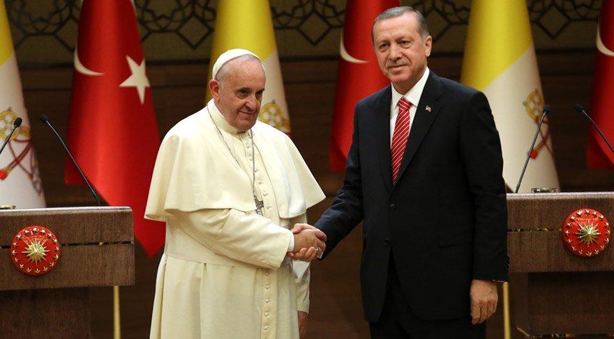 59 yıl sonra bir ilk: Cumhurbaşkanı Vatikan'a gidiyor