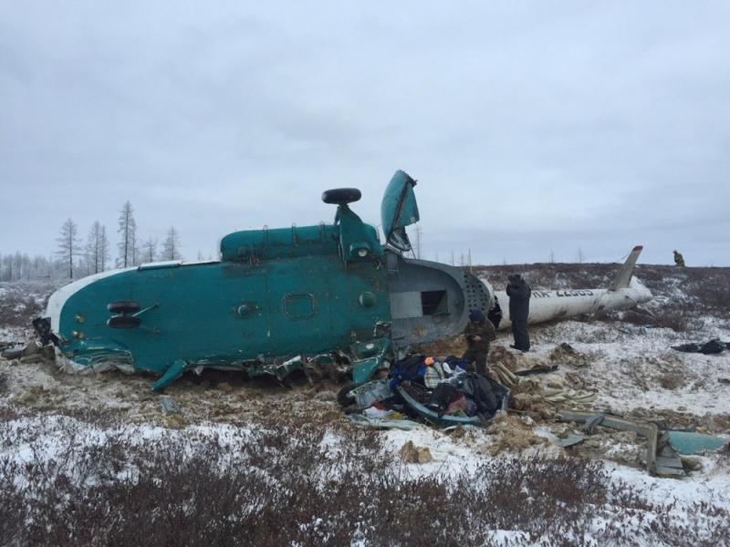 Sibirya'da helikopter acil iniş yaptı: 19 ölü