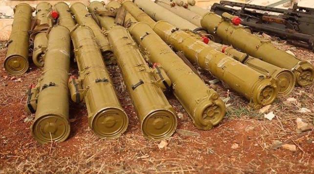 PKK'ya 'gizemli' destek: Afrin'e giden tankerden anti-tank füzeleri çıktı