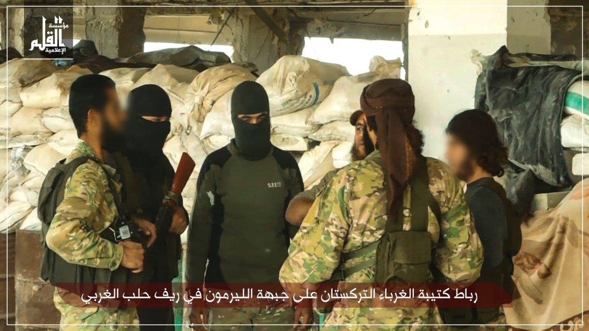 Suriye'de Türkistanlılara bağlı Filistinli grup kuruldu