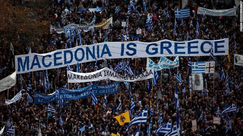 Makedonya ile Yunanistan arasında 'miras' kavgası