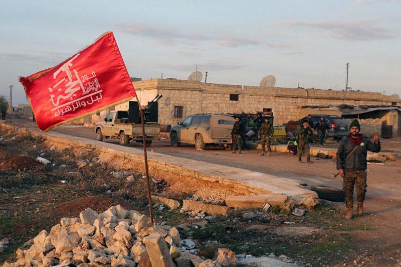 Şii milisler Afrin'de TSK'ya karşı savaşıyor