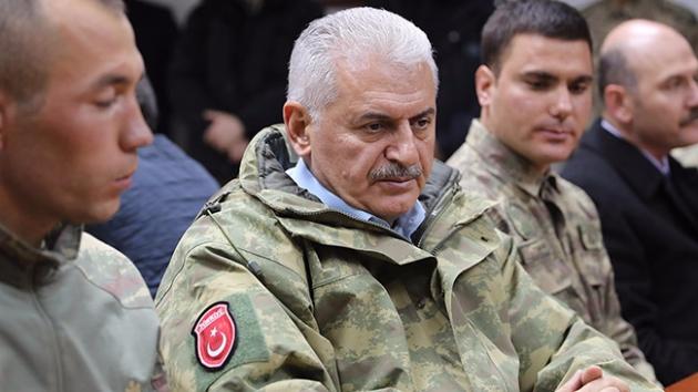 Başbakan Yıldırım: Afrin kent merkezine girilecek