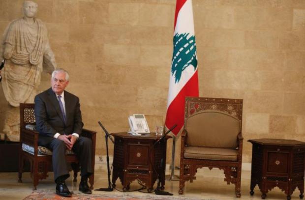 ABD Dışişleri Bakanı Tillerson'a Lübnan'da karşılama krizi