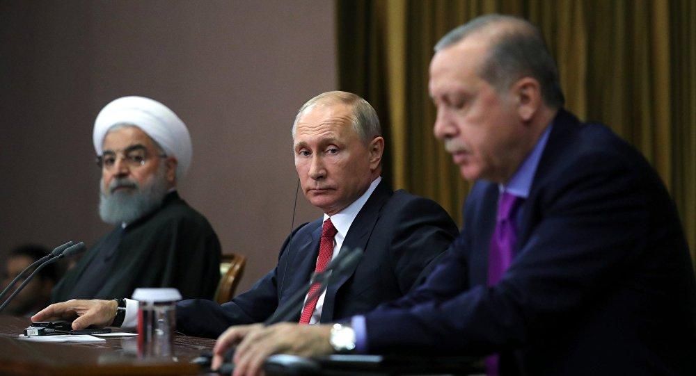 Suriye'de çözüm arayışları: Erdoğan Putin ve Ruhani'yi aradı
