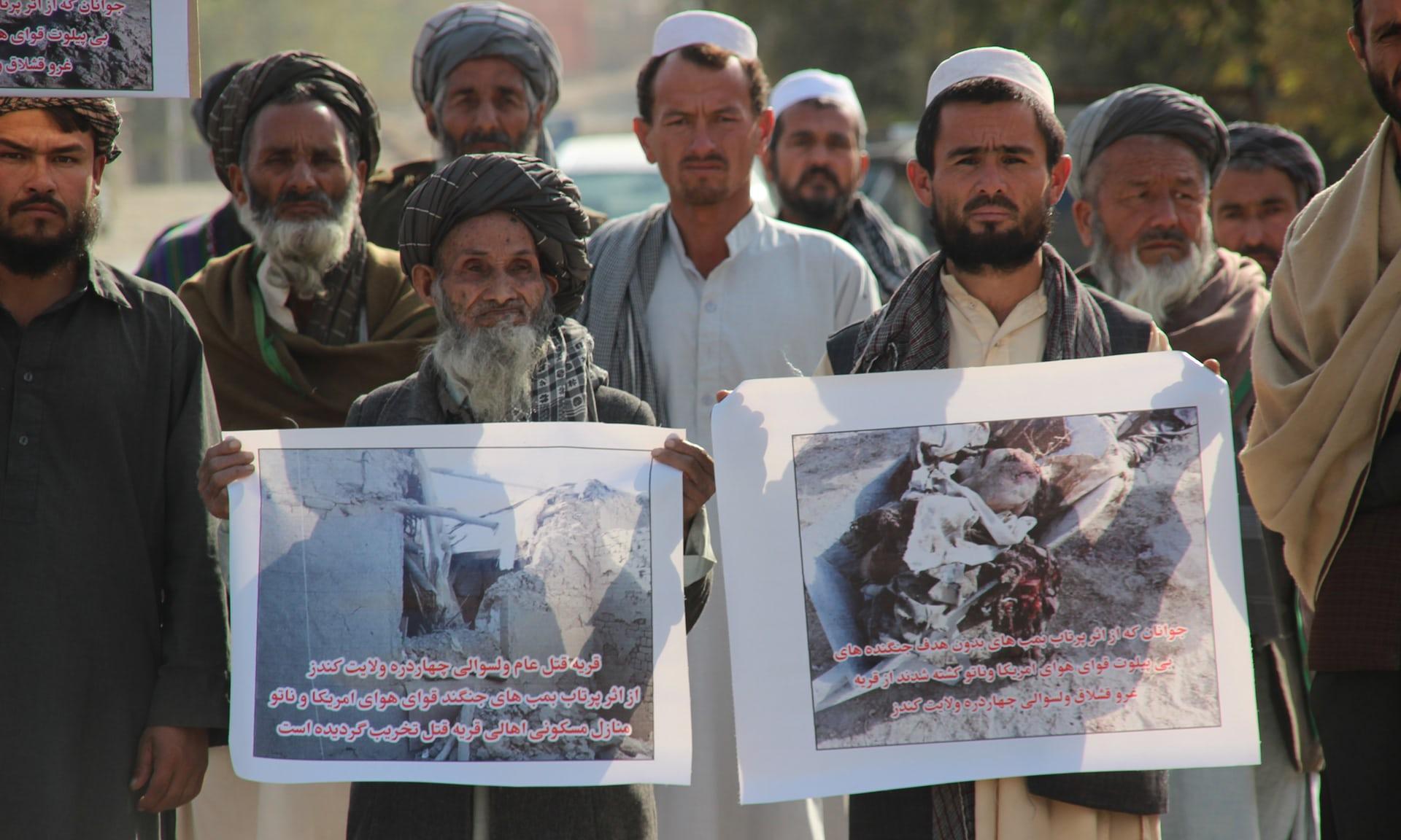 """""""Afgan medyası, ABD'nin öldürdüğü sivilleri 'Taliban' olarak lanse ediyor"""""""