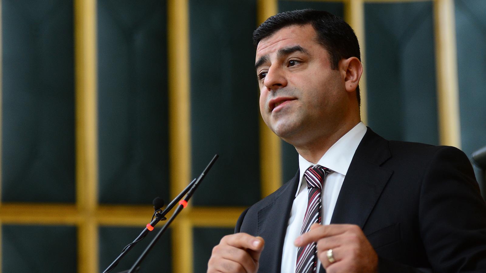 Demirtaş 'sokak çağrısı' yaptı, soruşturma açıldı