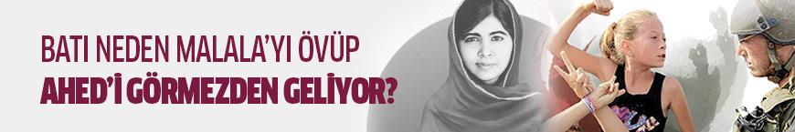 Batı neden Malala'yı övüp Ahed'i görmezden geliyor?