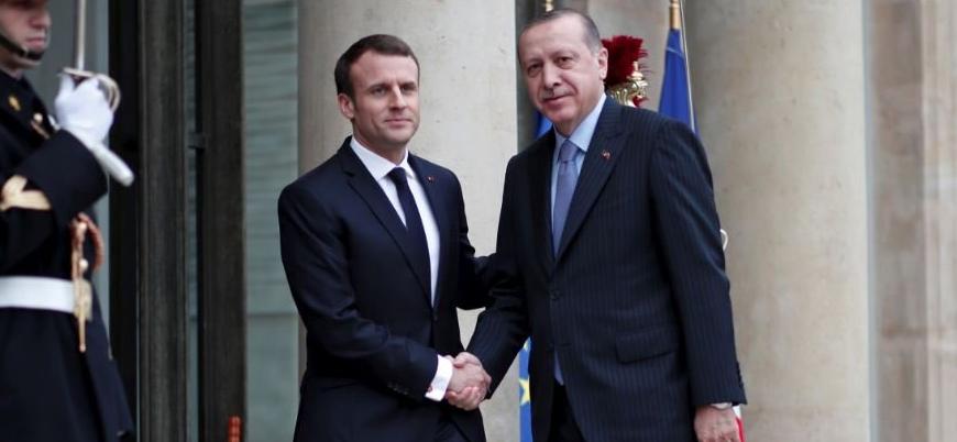 Türkiye'den Fransa'ya yalanlama: Macron Afrin'den bahsetmedi