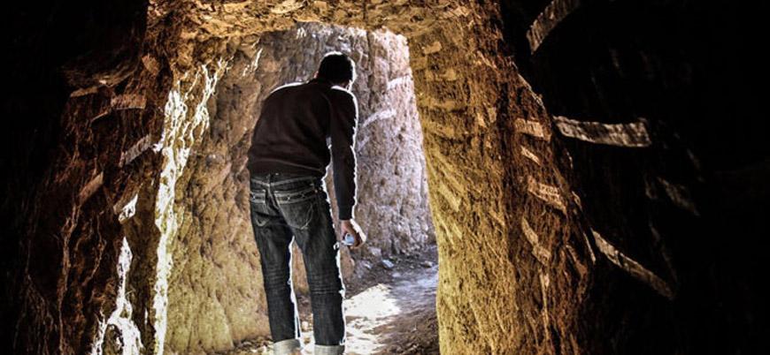 Hayatta kalmak için kaz: Doğu Guta'nın yer altı tünelleri