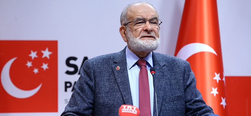 Saadet Partisi lideri Karamollaoğlu: AK Parti yüzde 10 barajına muhtaç hale gelecek