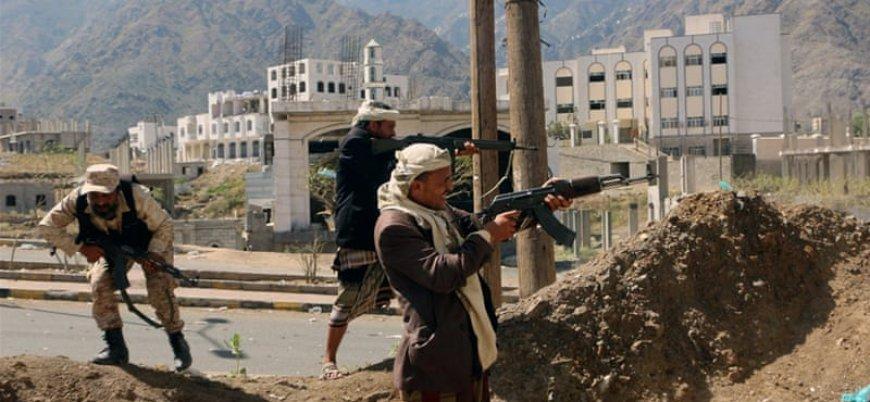 Yemen'de yaşanan şiddetli çatışmalarda en az 45 kişi öldü