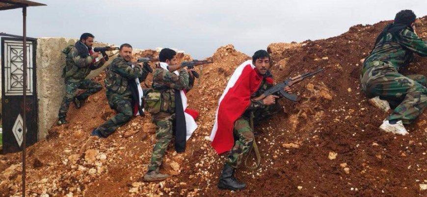 YPG: 10 rejim milisi Afrin'de öldü