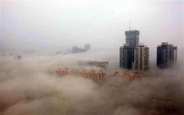 Çin'de 'turuncu alarm' verildi