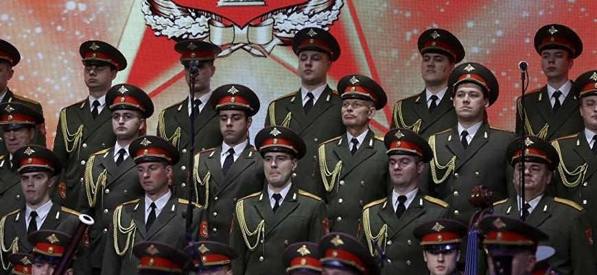 Guta'da katliam İstanbul'da müzik: Rus Kızılordu Korosu konser verdi