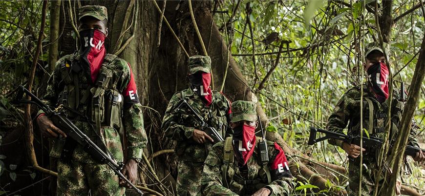 FARC sonrası Kolombiya'da savaş sürüyor: Ordu ELN'yi bombaladı