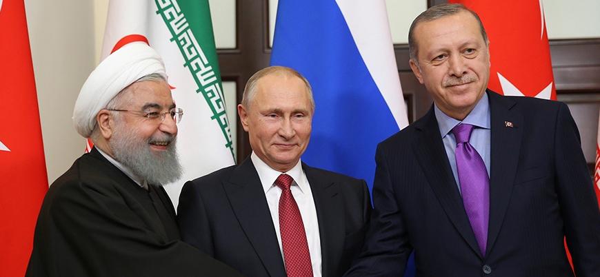 Türkiye Rusya ve İran liderleri Suriye'yi görüşecek