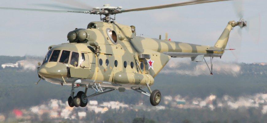Çeçenistan'da Rus helikopteri düştü!