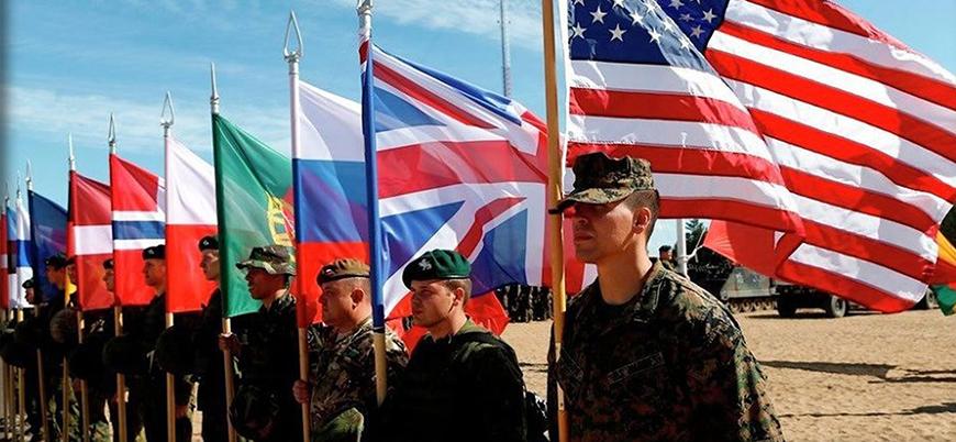 NATO'dan Rusya sınırında dev tatbikat