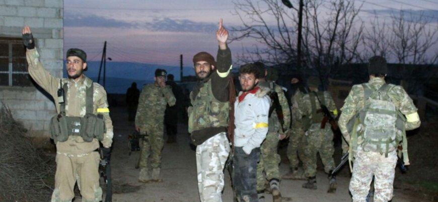 TSK destekli ÖSO güçleri Cinderes'e girdi