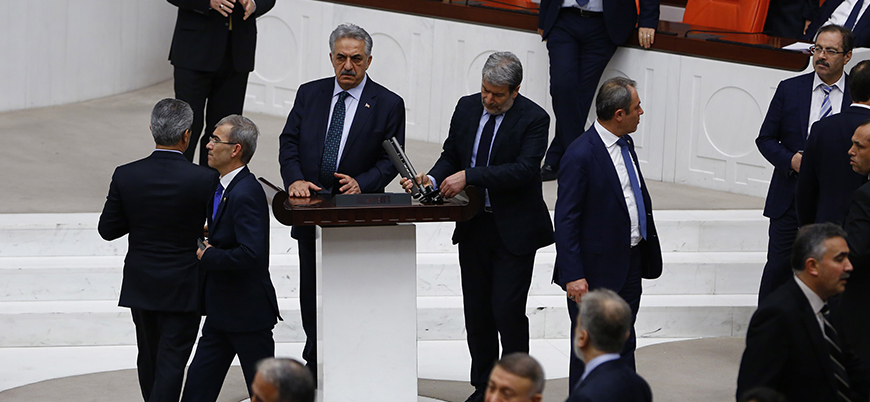 Meclis'te 'Zeytin Dalı Harekatı' kavgası