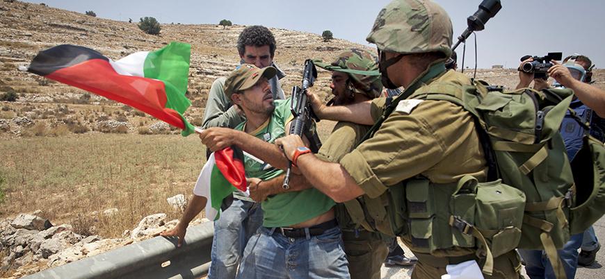Nablus'ta gerginlik sonrası İsrail şehre giriş çıkışları kapattı