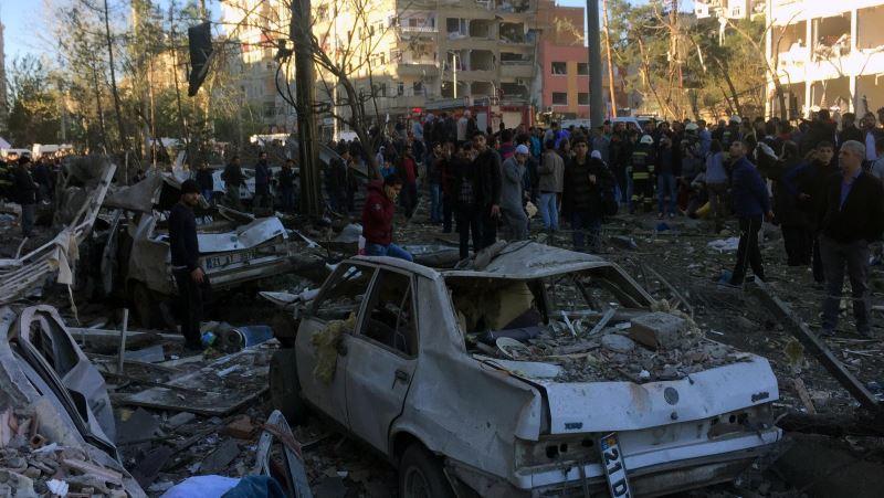 Diyarbakır saldırısını PKK uzantısı örgüt üstlendi