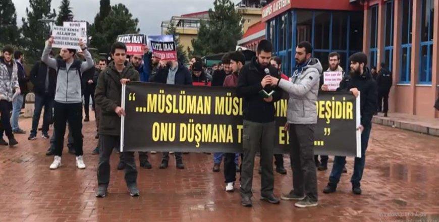 Sakarya Üniversitesi öğrencilerinden Doğu Guta'ya destek açıklaması