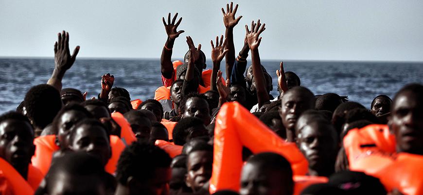 Libya'da 237 mülteci son anda kurtarıldı