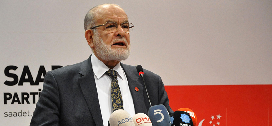 Karamollaoğlu: Adalet tecelli edecekse Demirtaş'ın tahliyesi doğrudur