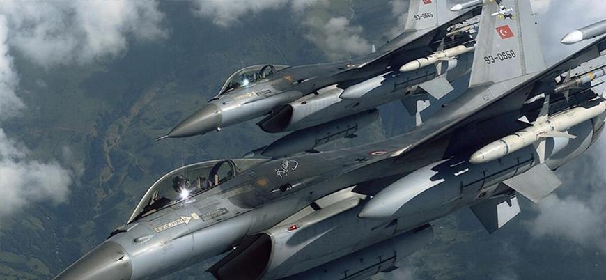 Türk jetleri Suriye hava sahasında