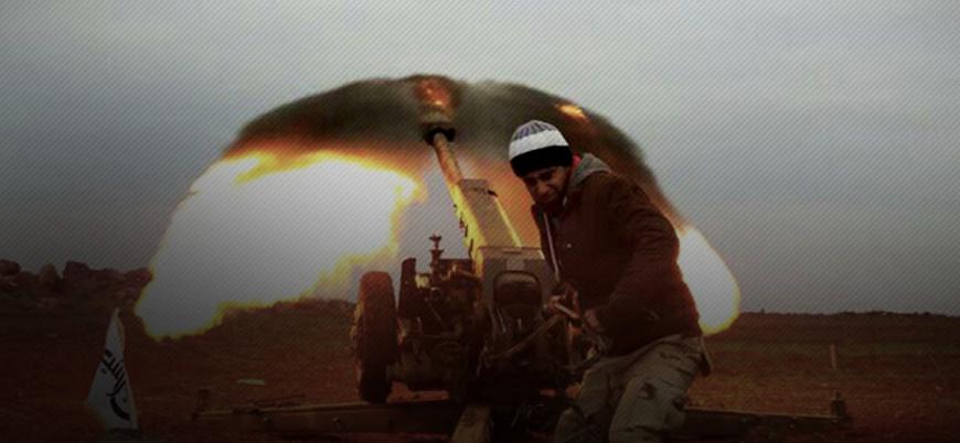 Guta'da muhaliflerin saldırısından kaçan rejim güçleri böyle görüntülendi