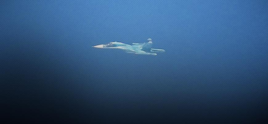 Rus uçakları IŞİD'e yönelik bir günde 100'den fazla saldırı düzenledi