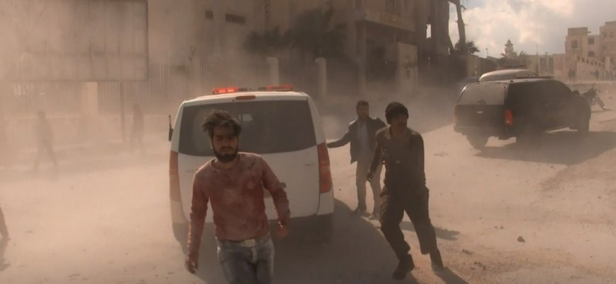 İdlib'deki Rus hava saldırısında en az 10 sivil öldü