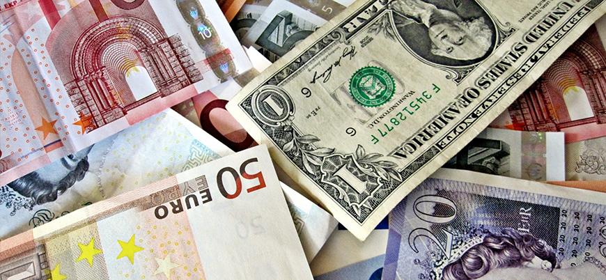 Dolar ve euro zirvede yer yaptı