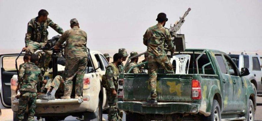 Rejim koalisyonunun Guta'daki saldırılarına destek Deyr ez Zor'dan