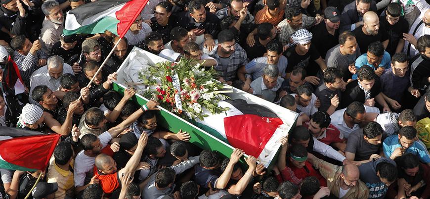 'İsrail Filistinlilerin naaşlarını ailelerine vermiyor, bunların bazıları 30 yıllık'