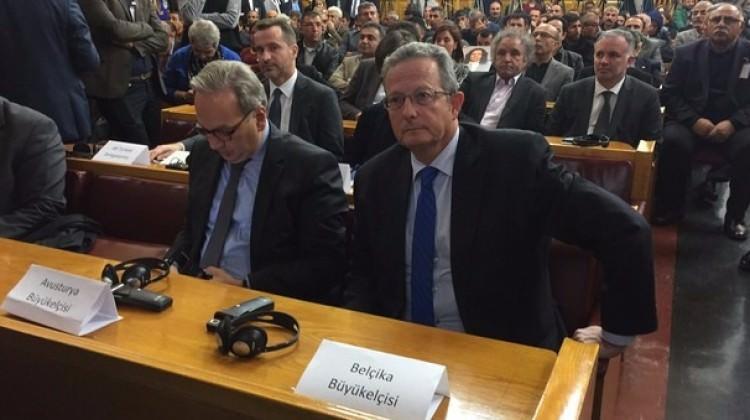 Batılı büyükelçilerden HDP'ye destek