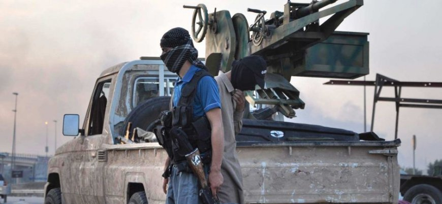 'IŞİD'in paralarını çaldı ve Irak'a kaçtı'