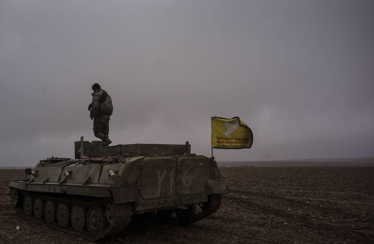 """""""Rakka'yı IŞİD'ten alacak güç yok"""""""