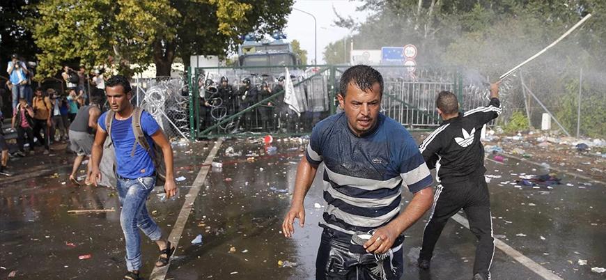 Macar polisine taş attığı iddia edilen Suriyeli mülteciye terör suçlamasıyla 7 yıl hapis
