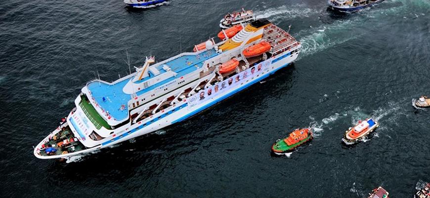 Mavi Marmara'ya yeni görev: Katliama sahne olan gemi taşımacılıkta kullanılacak