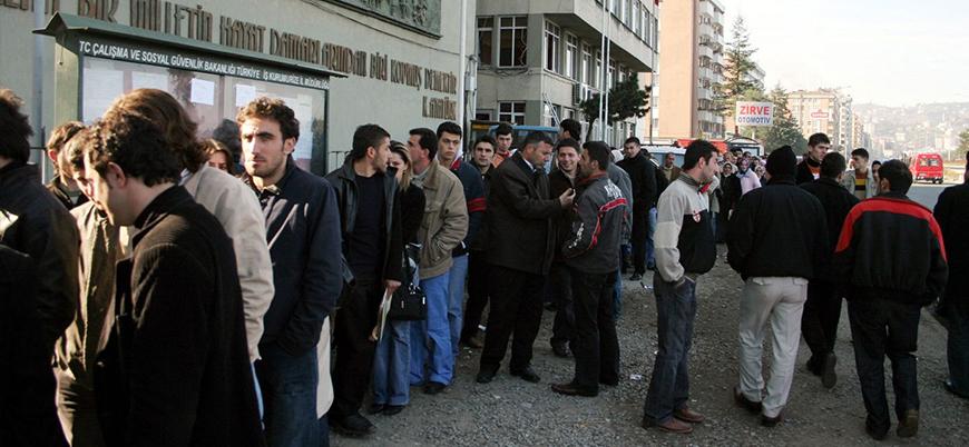 Rakamlar açıklandı: İşsizlik oranı arttı