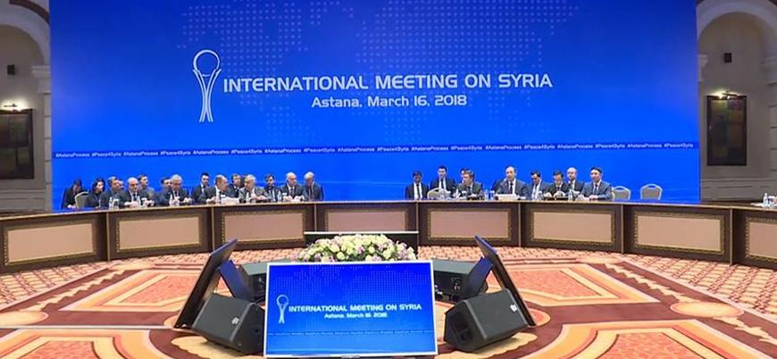 Astana'da Suriye konulu İran-Rusya-Türkiye toplantısı başladı