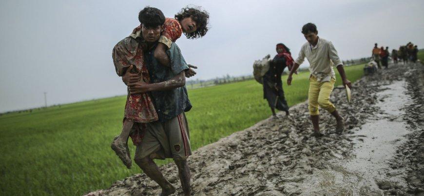 Rohingya Müslümanlarının yerine Budist Rekhinler