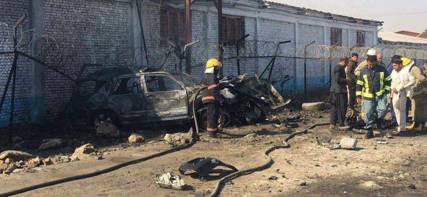 Afganistan'ın başkentinde yabancı eğitmenlere yönelik bombalı araç saldırısı