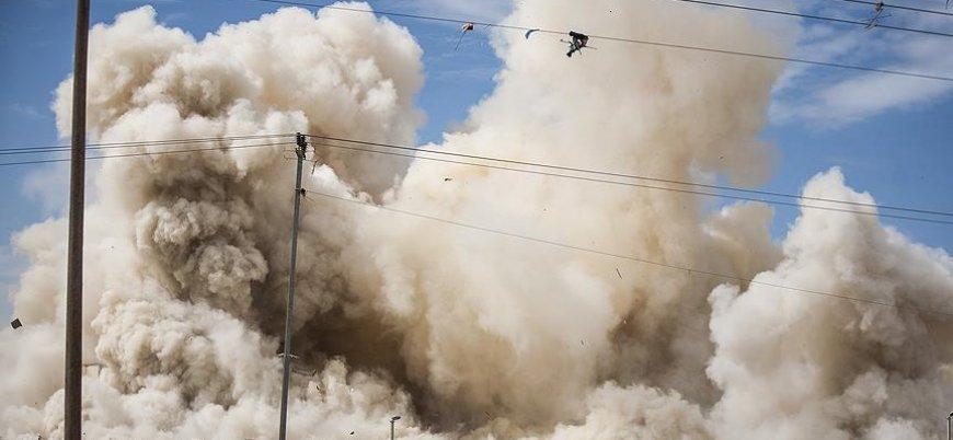 İsrail Gazze'de yine tarım arazilerini bombaladı