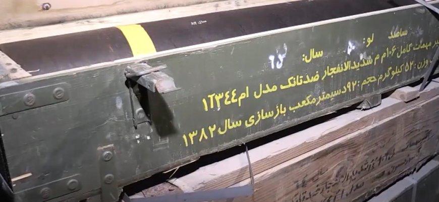PKK'nın Afrin'deki cephaneliğinden çıkan silahlar hangi ülkelere ait?