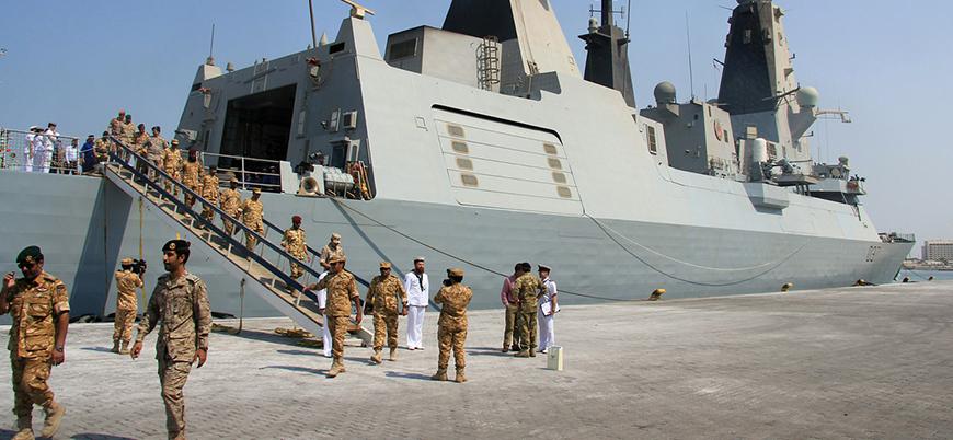 Katar ve Pakistan donanmalarından tatbikat