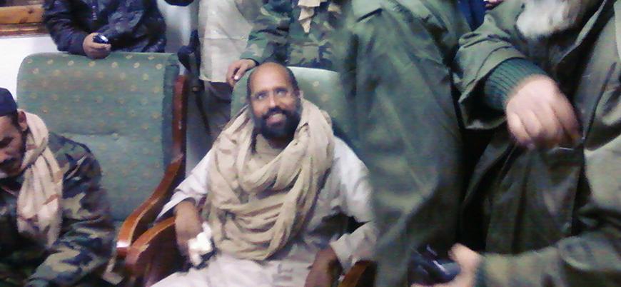 Kaddafi'nin oğlu Seyfulislam, Libya devlet başkanlığına aday